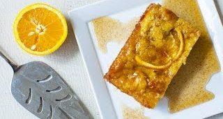 Griechischer Orangenkuchen