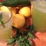 Gurken-Minz Limonade