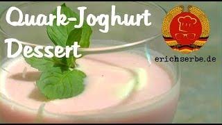 Quark-Joghurt Dessert
