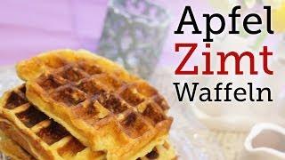 Rezept - Apfel-Zimt-Waffeln (Red Kitchen