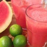 Wassermelonen-Limeade